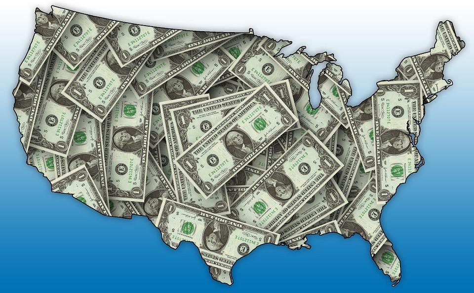 Amerika a dolary