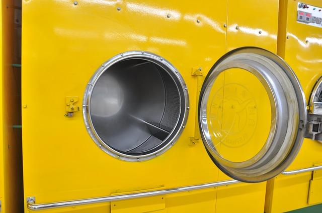 žlutá pračka