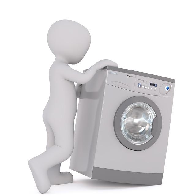 přesun pračky