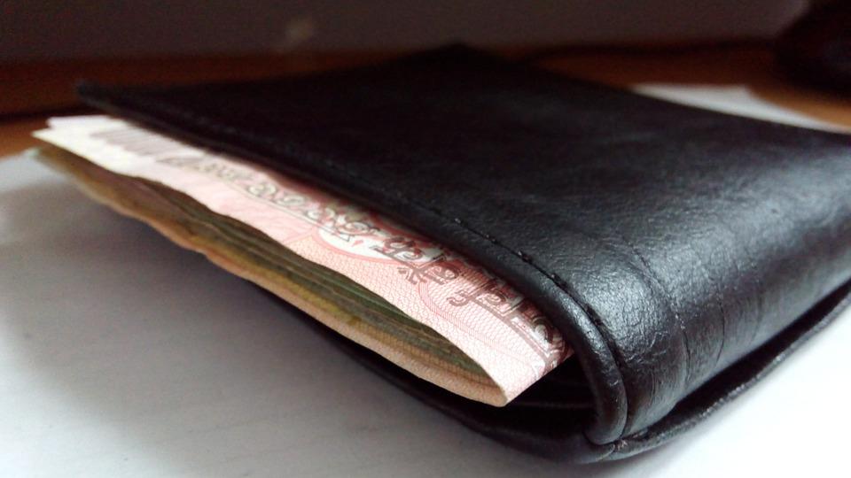 plná peněženka